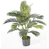 Artificielles - Palmier areca artificiel en pot h 90 cm 17 superbes feuilles - choisissez la dimension: h 90 cm