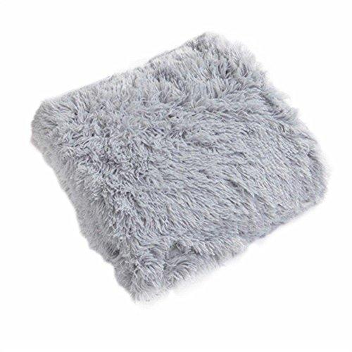 PV Velvet Flanelle Couverture Super Doux Corail Polaire Climatisation Longue Couverture En Peluche pour Lit Chaise Canapé (160 * 200 cm) , 160*200cm