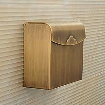 Aviones de papel higiénico-- Cobre antiguo del papel higiénico del cartón de papel higiénico Cajas