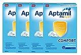 Aptamil ProExpert Comfort ab dem 1. Fläschchen, 4er Pack (4 x 600g)