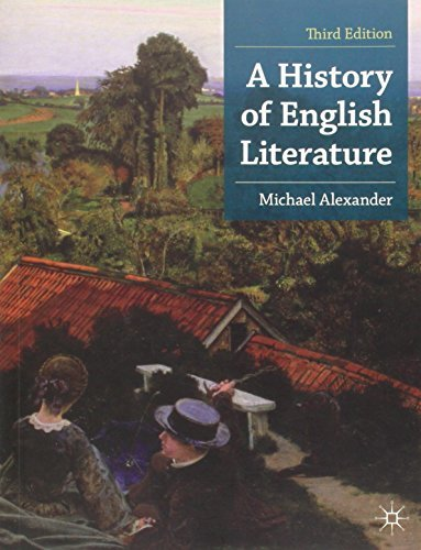 A History of English Literature (Palgrave Foundations Series) by Michael Alexander(2013-03-26)