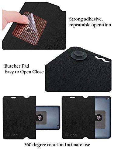 Acm Designer Rotating Flip Flap Case for Alcatel Pixi 4 6″ 4g Mobile Stand Cover Black