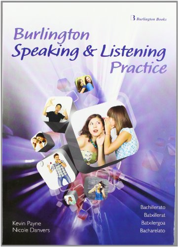 Burlington Speaking & Listening Practice For Bachillerato - 9789963484201