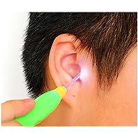 ZOMTOP LED linterna EarPick, limpiador de la herramienta de la cera del oído de la salud para el cuidado del bebé para las muchachas de los muchachos (3 sistemas)