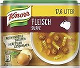 Knorr Fleischsuppe Dose Ergiebigkeit, 3er Pack (3 x 17.6 l)