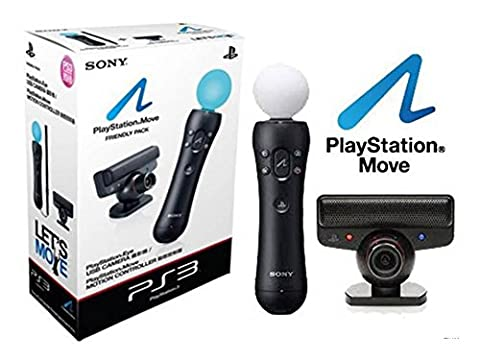 Sony PlayStation amicale starter pack inc Move contrôleur eyetoy caméra (PS3 / PS4 / PSVR)