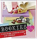 Bookies in Love: Tierische Lesezeichen zum Häkeln