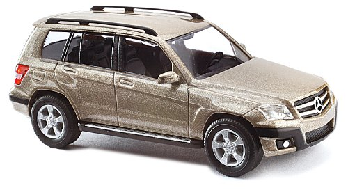 Busch Voitures - BUV49755 - Modélisme Ferroviaire - Mercedes Benz - Classe GLK - Beige