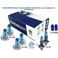 piaggio porter platform/chassis electric 11kw, bj 06.98-. lampadine allo xenon