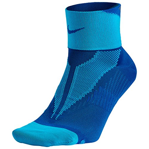 Nike One-Quarter Socks Elite Run Lightweight Game Royal/Bllgon