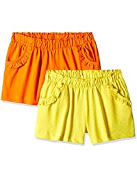 Mothercare Girls' Shorts (Pack of 2)