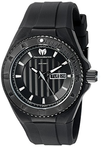 technomarine-mens-quartz-watch-with-black-dial-analogue-display-and-black-silicone-strap-tm-115168
