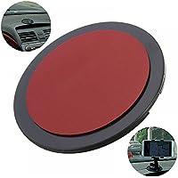 Paquete de 4 - MAXGOODS 70mm Disco de Montaje Adhesivo Ventosa Soporte para Teléfono/ Tablet/ GPS/ Tableros/ Instrumentos de Coches/ Smartphone