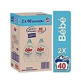 Le Chat bebe - Lessive Liquide - 80 Lavages (2 x 2 L)