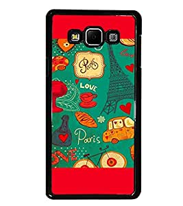 PRINTSWAG LOVE PATTERN Designer Back Cover Case for SAMSUNG GALAXY A7