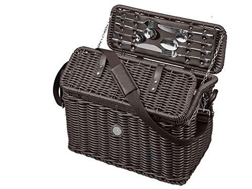 MB Mercedes-Benz Picknickkorb braun, Polyethylen