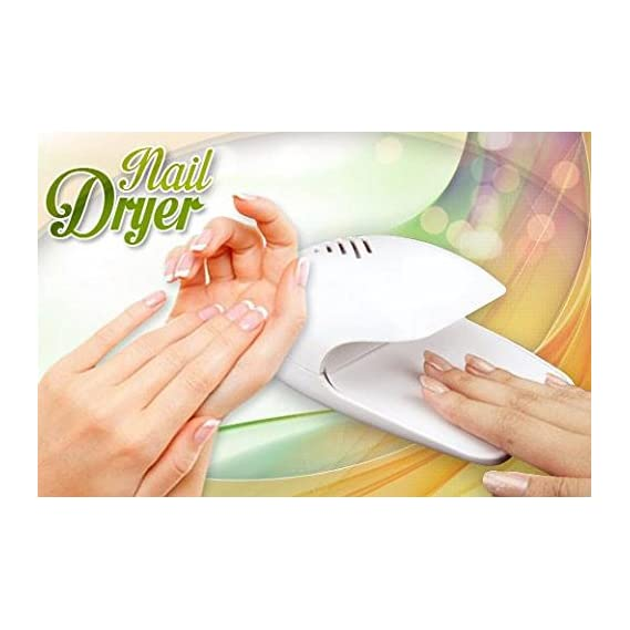 CPEX Portable Hand Finger Toe Nail Art Polish Paints Dryer
