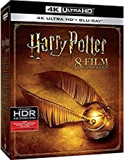 Harry Potter Complete 8 Films 4K UHD Collection (Imported Region Free 16 Disk Set with English DTS X)