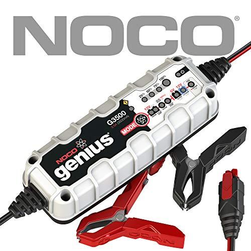 NOCO G3500EU 6V/12V 3.5 Amp Intelligente Caricabatteria e Mantenitore di Carica automatico per Auto, Moto e Altro