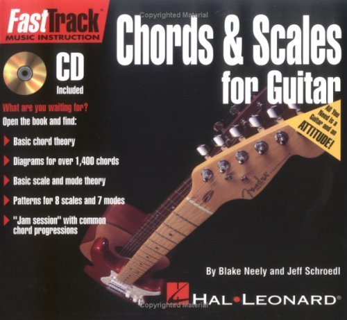 FastTrack Mini Chords and Scales for Guitar (Fast Track (Hal Leonard)) by Jeff Schroedl (2000-04-01)