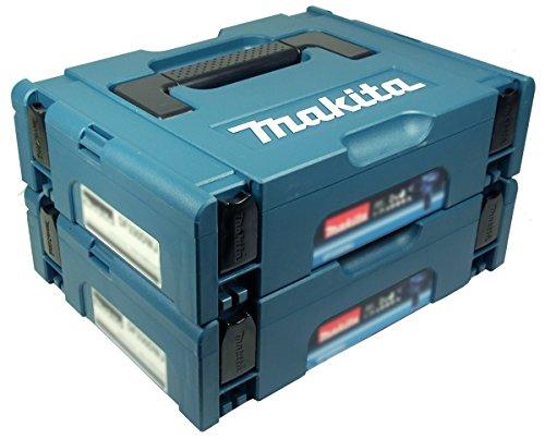 Preisvergleich Produktbild Makita Makpac Gr. 1 Transportbox 2er Set