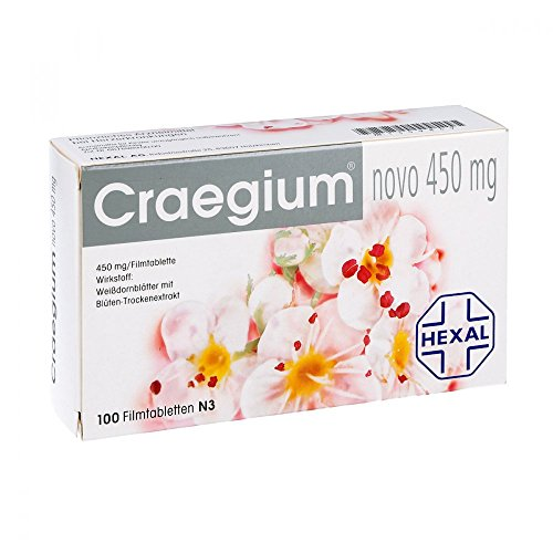 Craegium novo 450 mg Filmtabletten 100 stk