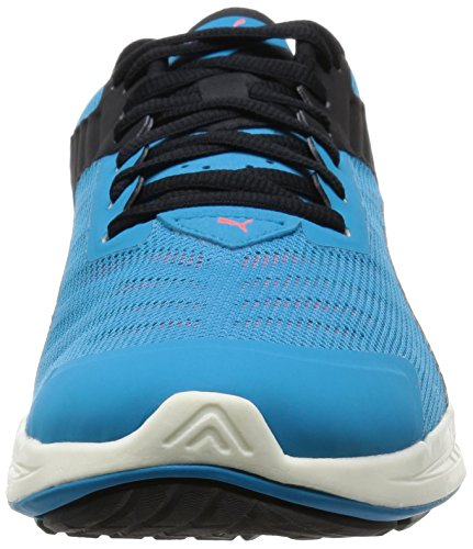 Puma IGNITE v2, Chaussures de course homme Multicolore (AtomicBleu/Aged Silver/Red Blast)