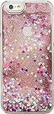 The Kase Paris Coque Pailletée pour iPhone 6 Motif Pink Lady