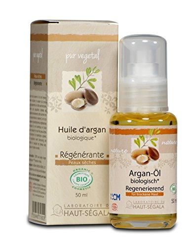Huile d'argan biologique - Haut Ségala - 50 ml