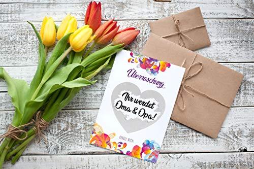 5 Rubbelkarten Überraschung von VULAVA + Gratis Online-Handbuch mit 100 Überraschungsideen – die liebevollen Grußkarten sind das perfekte Geschenk für