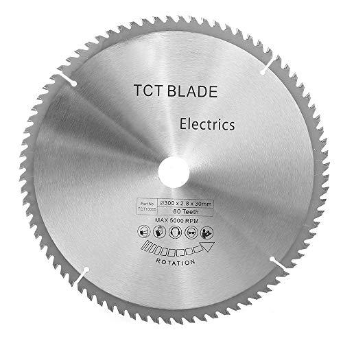 RanDal Tct 300Mm X 80 Denti Circolari Sega Lama Taglio Dischi Fit For Bosch Makita