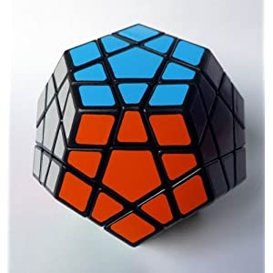Wings of Wind – Shengshou Megaminx Black Puzzle Speed Cube Dodecaedro Smooth Cube