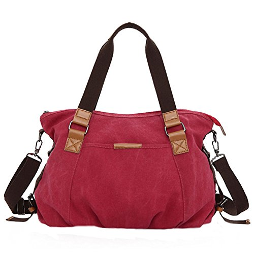 Pairs D, Borsa a zainetto donna marrone Brown Red