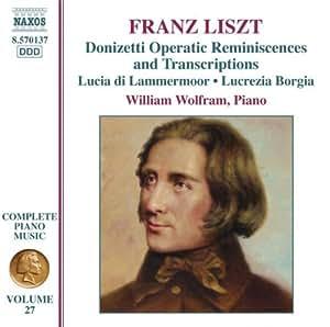 Franz Liszt : intégrale de l'oeuvre pour piano Vol. 27