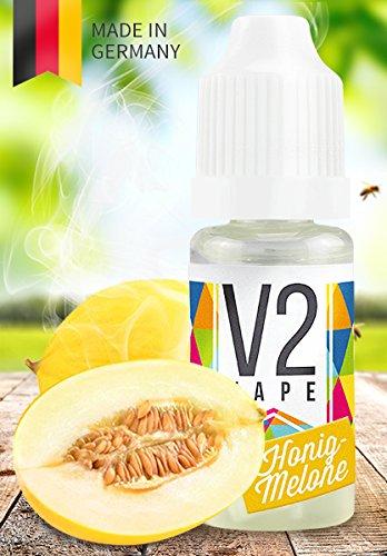 V2 Vape E-Liquid Honigmelone, 10ml