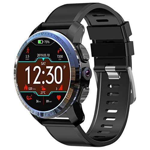 Blutdruck-system (Janly Kospet Optimus Smartwatch 2GB 16GB 800mAh Batterie Dual Systems 4G IP67 Wasserdicht 8.0MP 1.39