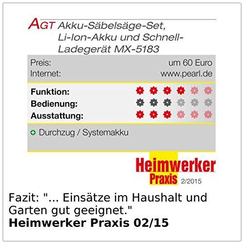 AGT Professional Akku Fuchsschwanz AW-18.sl - 6