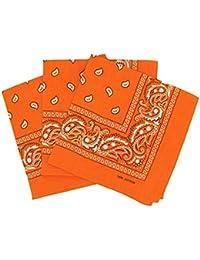 d5b9300a04aa PURECITY© Bandana Original Paisley Motif Cachemire Foulard Pur Coton  Qualité Supérieure Vendu par Lot -