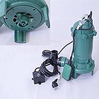 """!! Profi !! Fäkalienpumpe Tauchpumpe Schmutzwasserpumpe Model: CTR 550 mit Schneidwerk 550 Watt Anschluß Druckseite 2""""=5,02cm, Spannung 230V/50Hz, Kabellänge ca. 9,0 m. Fördermenge: 15000l/h=250 l/min."""