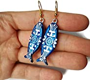 Portugal Sardine Earrings