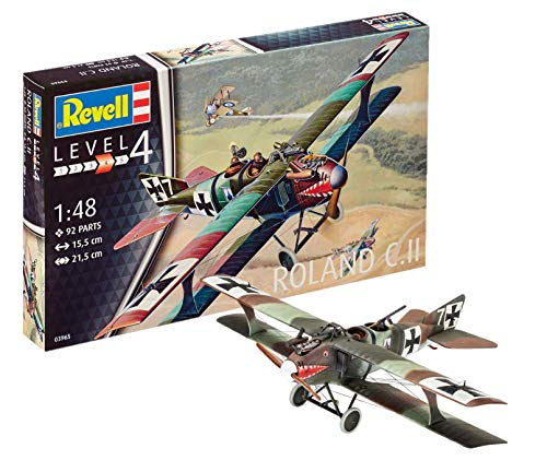 Revell- Roland C.II Kit di Modelli in plastica, Multicolore, 03965