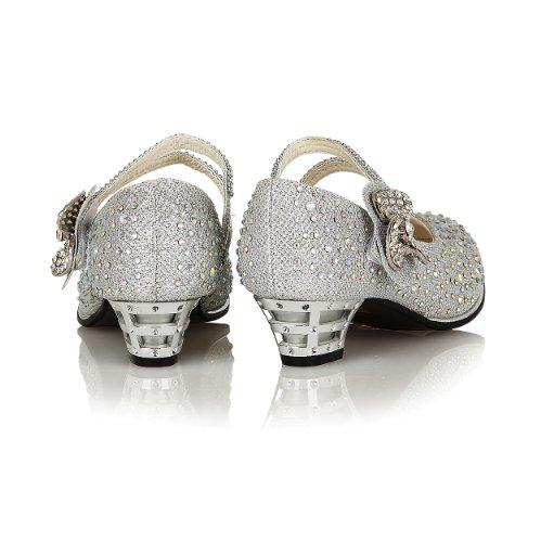 Shoe Avenue , Babies pour fille Argent