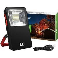 LE 10W Lanterna LED portatile, USB Ricaricabile