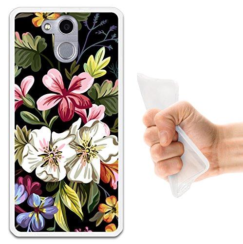 WoowCase Elephone P7000 Hülle, Handyhülle Silikon für [ Elephone P7000 ] Blumenstrauß Handytasche Handy Cover Case Schutzhülle Flexible TPU - Transparent
