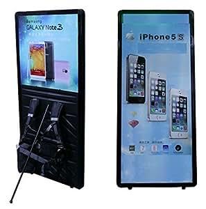 Portable avec lED, trottoir, panneau publicitaire mobiletafel billboard
