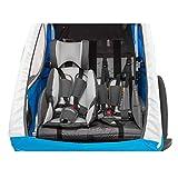 Qeridoo Sitzverkleinerer für Kinderfahrradanhänger Babysitz S-58697 - 2