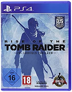 Rise of the Tomb Raider 20-Jähriges Jubiläum - Standard Edition - [PlayStation 4] (B01MYQDW3Z) | Amazon price tracker / tracking, Amazon price history charts, Amazon price watches, Amazon price drop alerts