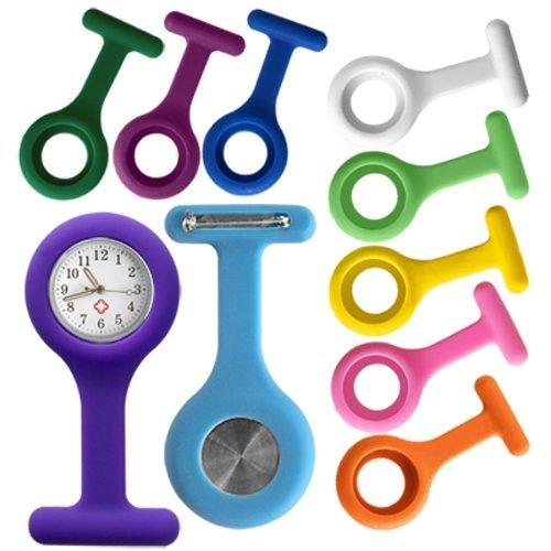 gleader-orologio-a-spilla-con-10-cover-in-silicone-mix-colori-qualita-nuova