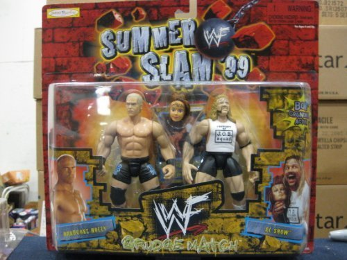 WWF Summer Slam 99 Grudge Match Hardcore Holly/Al Snow By Jakks 1999 by Jakks Pacific