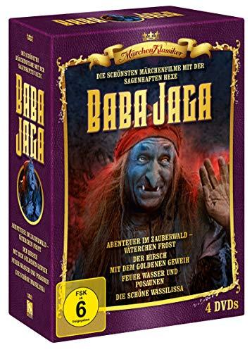 Märchen Klassiker - Hexe Baba Jaga - Edition [4 DVDs]